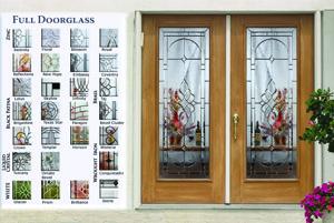 Double Full Doorglass