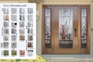 Full Doorglass Fiberglass