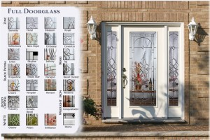Full Doorglass Steel